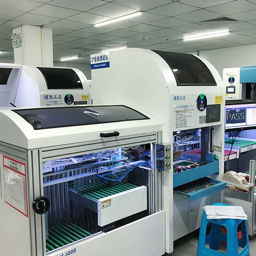 Automatic Fixture Tester